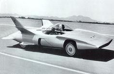 The Firebird III goes through its paces on the test track