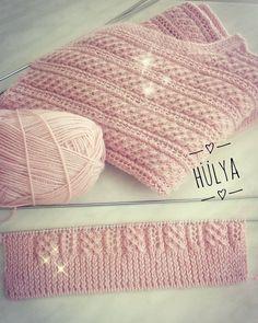 3 Şekilde Kullanılan Dikişsiz Boyunluk-Bere Yapımı 🙆/ Knitting a beanie-snood/вязание шапочки-снуд Baby Knitting Patterns, Knitting Stiches, Easy Knitting, Knitting Needles, Crochet Patterns, Knitted Baby Clothes, Knitted Bags, Crochet Baby, Knit Crochet