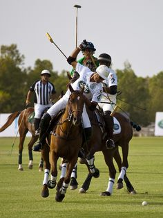 I thoroughly enjoy the game of polo, never mis a match!