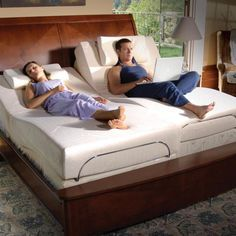 Tempur-Pedic Adjustable Foundation with Therapeutic Massage.. Yes please!! Please like, repin and share! Thanks :)