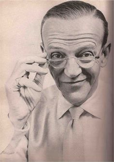 Fred Astaire The Quinquagenerarians Harper's Bazaar September 1955 Photography: Richard Avedon