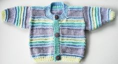 This beautiful designer cardigan is perfect for the little baby boy or baby girl in your life.