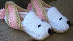 """These are called """"Bunny Slippers,"""" but I can see Snoopy in them!  I'd just change the eats to white and black as well."""