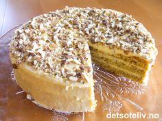 Fin pariserdame   Det søte liv Recipe Boards, Tiramisu, Camembert Cheese, Tart, Food And Drink, Baking, Ethnic Recipes, Cakes, Pie