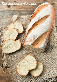 Pan blanco artesanal | L'Exquisit