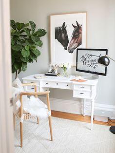 Neutrals   Productivity-Boosting Study Room Ideas   Living Room Ideas