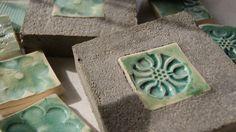Paula Rodriguez ... cemento con ceramica !!