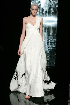 Stunning wedding dress alternative