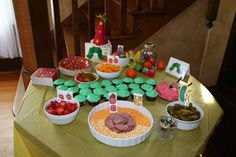 Very Hungry Catepillar Birthday Party