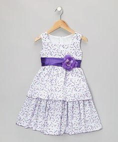 Another great find on #zulily! Purple Meadow Dress - Infant, Toddler & Girls #zulilyfinds