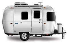 From teardrops and pop-ups to expedition-style off-roaders, the 2020 crop of lightweight camping trailers are nimble, adventurous and easy to tow. Airstream Sport, Airstream Trailers For Sale, Airstream Campers, Tiny Trailers, Airstream Interior, Vintage Airstream, Camper Trailers, Airstream Bambi For Sale, Gourmet