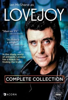 """Lovejoy (1986–1994) / S: 1-6 / Ep. 73 / Comedy, Crime, Drama / Stars: Ian McShane, Dudley Sutton, Chris Jury / Lovejoy is a trickster, a swindling art and antiques dealer who seems to get caught up in devious deals and """"get rich quick"""" schemes. But you can't help liking Lovejoy, who has a talent for finding hidden treasures. When he's not out for himself, he uses his skills as a con man to help the less fortunate and less sneaky."""