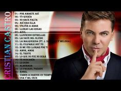 Cristian castro sus mejores baladas romanticas (CD completo) - YouTube Music Publishing, 6 Music, Music Songs, Wedding Anniversary Quotes, Rca Records, Youtube, Writer, Entertaining, Amor