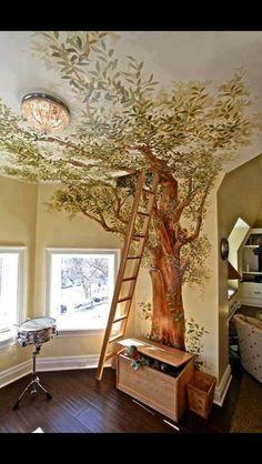 #interiordesign #treehouse