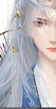 Fantasy Art Men, Anime Art Fantasy, Beautiful Fantasy Art, Fantasy Girl, Dark Anime Guys, Cool Anime Guys, Handsome Anime Guys, Anime Art Girl, Manga Art