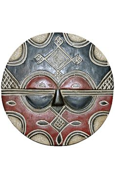 Nyami African masks provide the teke sun mask for the people. It has narrow eyes in the mask which will help the people to see to their surroundings and hide their face. Most often it is used with different ceremonies, rituals, festival etc. It is available at a price range of 97 euro.