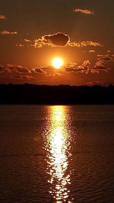 Sunset over Lake Ronkonkoma, Long Island, NY