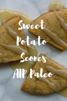 Sweet Potato Scones (AIP, Paleo)— AIP Nutrition *I want to try this with pumpkin or squash. Clean Recipes, Paleo Recipes, Cooking Recipes, Scone Recipes, Paleo Meals, Detox Recipes, Paleo Sweets, Paleo Dessert, Crepes