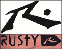 Out with the old, in with the Rusty. (http://www.apparelnews.net/blog/2729_rustys_new_logo.html) #New #Rusty #Logo #ApparelNews #Blog