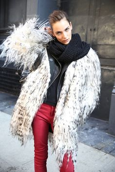 Fluff and leather