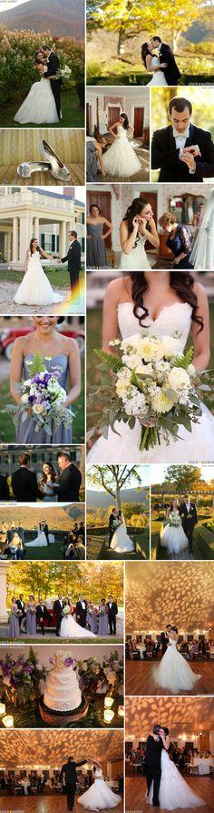#EnzoaniRealBride Alyssa looking gorgeous at her Vermont wedding! | Clark and Walker Studio