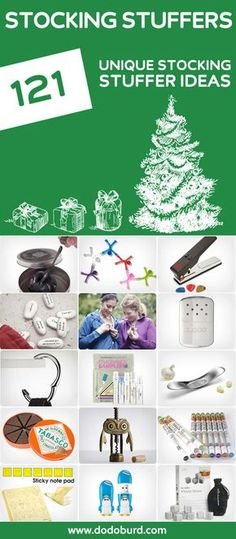 28e98da98c2 121 Unique Stocking Stuffers. THE holy grail for stocking stuffer ideas.  Christmas Gifts To