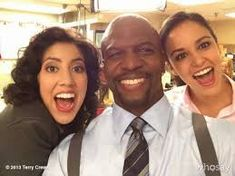 I'm scared...Rosa's smiling!