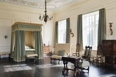 The Best Chamber at Tredegar House in Newport, South Wales