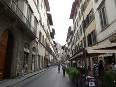 Ttypical Florence street