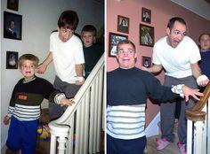Drei Brüder ließen alte Fotos wieder aufleben und machten daraus diesen Kalender…