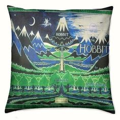 Hobbit Cushion, Lord Of The Rings Cushion, ROOBY LANE