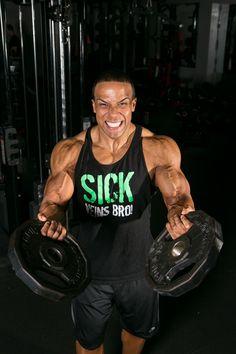 cfe1544530ee8 Men s Sick Veins Bro Stringer Tank Top - Black Green