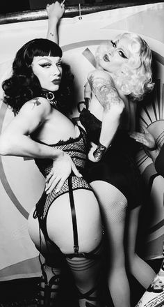 Violet Chachki and Pearl