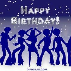 Top Happy Birthday Wishes Gif Images - Birthday Gif Happy Bday Pics, Happy Birthday Gif Images, Happy Birthday Text, Happy New Year Images, Birthday Pictures, Birthday Gif For Her, Happy Birthday Celebration, Happy Birthday Wishes Cards, Birthday Greetings
