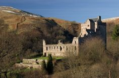 Castle Campbell, seat of the Earls and Dukes of Argyll, Chiefs of Clan Campbell.