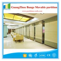 Decorative Acoustic Sliding Movable Wall Partitions For Art Gallery