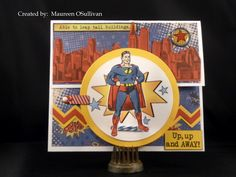 Let's Give 'em Something to Scrap About!: CTMH-- Super Powers Card; Father's Day