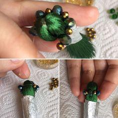 фото мастер-класс Thread Jewellery, Tassel Jewelry, Seed Bead Jewelry, Jewelery, Diy Tassel, Handmade Beads, Earrings Handmade, Handmade Jewelry, Bead Embroidery Jewelry