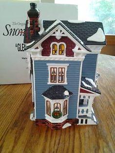 Dept 56 Snow Village Glenhaven House