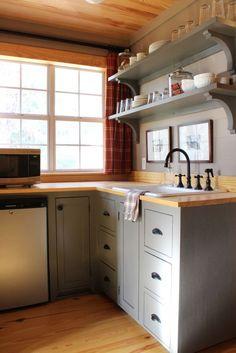 attic kitchenette - Google Search