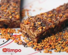 """Barras para desporto de endurance Olimpo e Olimpo+  Com grandes possibilidades de se tornarem o """"Best Seller""""! Olimpo and Olimpo +, Cereal Bar for endurance sports. With great opportunities to become our best seller!  #Olimpo #DocePapoila #Olimpo+ #trail #UltraTrail #Corrida #Running #TrailRunning #Climbing #Escalada #Alpinismo #freeclimbing #dawnwall #Granola #cardio #nutrition #supplements #health #training #margalef"""