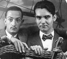 Federico y Dalí.