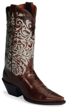 Dan Post Tooled Leather Western Boots - Sheplers