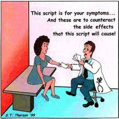 Via Deidre Simon. This is my life right now but I'll keep trying until we find the Rx that's right for me - ms.