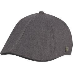 Men s New Era Gray New York Knicks Black Label Series Suiting Duckbill Knit  Hat f0bd7e0c54b