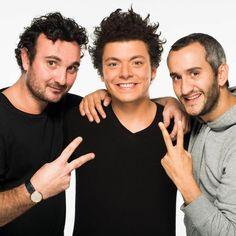Kev Adams, french comic with john Eledjam & Edouard Pluvieux