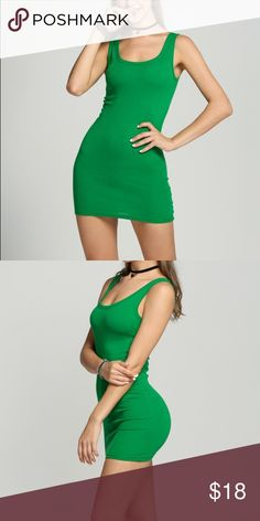 Green Body-con Dress Green Body-con Dress Dresses Mini