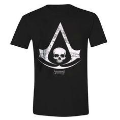 Gamer heaven - Assassin's Creed® IV Black Flag™ - Logo Map Official T-Shirt, $19.23 (http://www.gamer-heaven.net/assassins-creed-iv-black-flag-logo-map-official-t-shirt/)