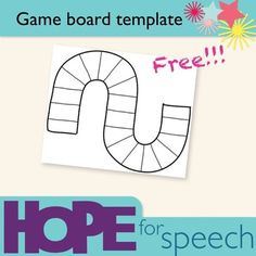 Here's a single game board template to create your own instructional resources.