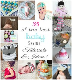 35+ Baby Sewing Tutorials & Ideas {found through pinterest!}
